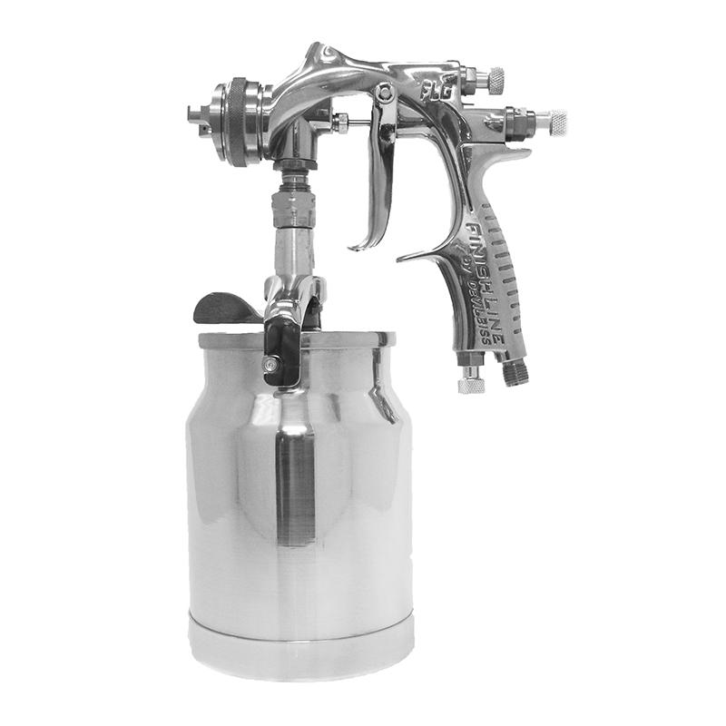 Pistola para pintura HVLP alimentada por sucção FLG 515-S18