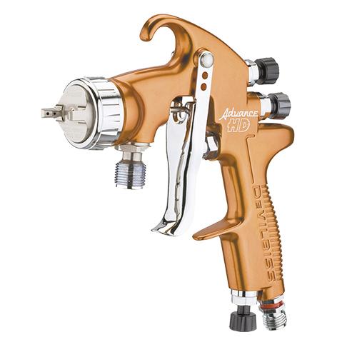 Pistola de pintura HVLP-Transtec com alimentação por pressão ADVANCE HD ADV-P522