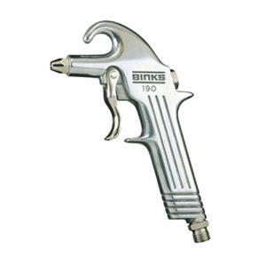 Pistola de sopro de ar modelo 190 Binks
