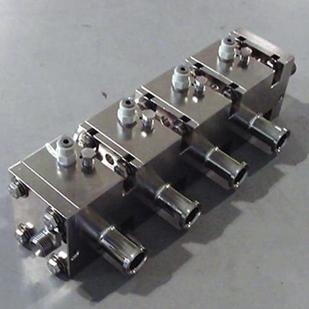 Chumbo Modular de Cor Dual Inline Piggable Binks