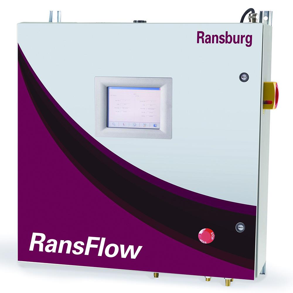 Controle de Ratio Ransburg RansFlow
