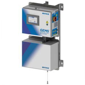 Solução de Mistura Eletrônica Binks GEMS 2K