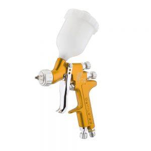 Pistola de pintura DeVilbiss SRi Pro Lite HVLP-Transtec com alimentação por gravidade