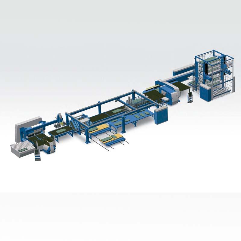 Sistema Automatizado Prima Power PSBB, Punzonadora, Cizalladora, Amortiguadora, Dobladora