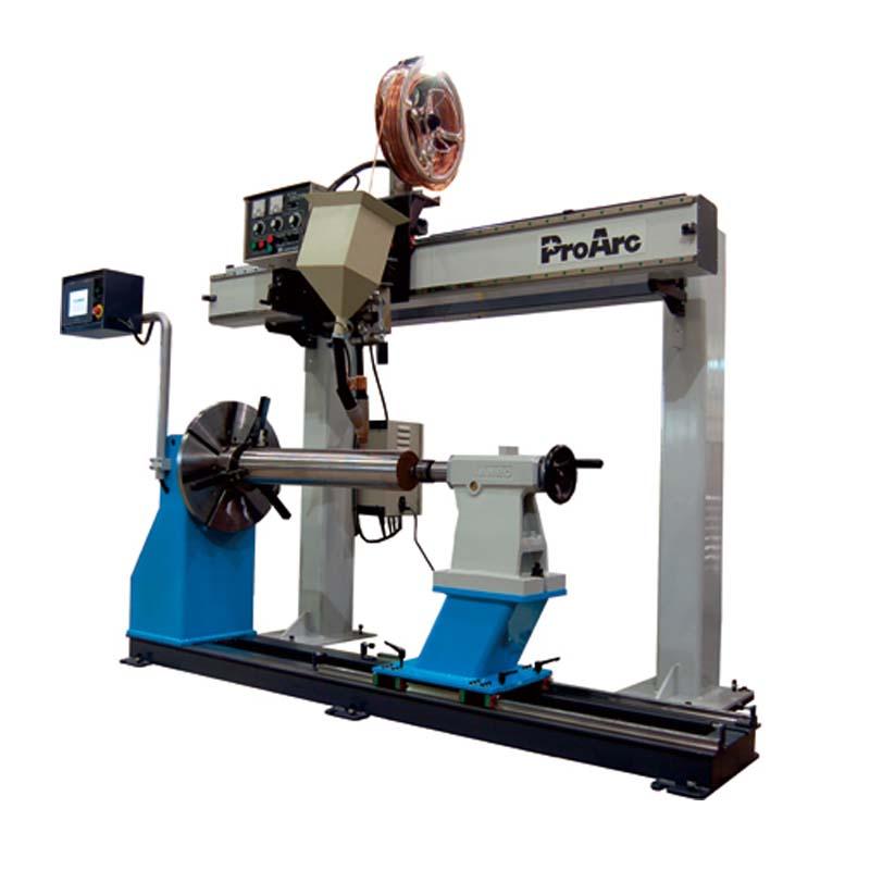 Equipo de automatización de soldadura Arco Sumergido ProArc ServoArc