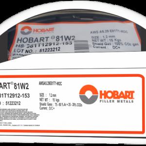 Soldadura para Flux Cored Hobart E81T-1W2C