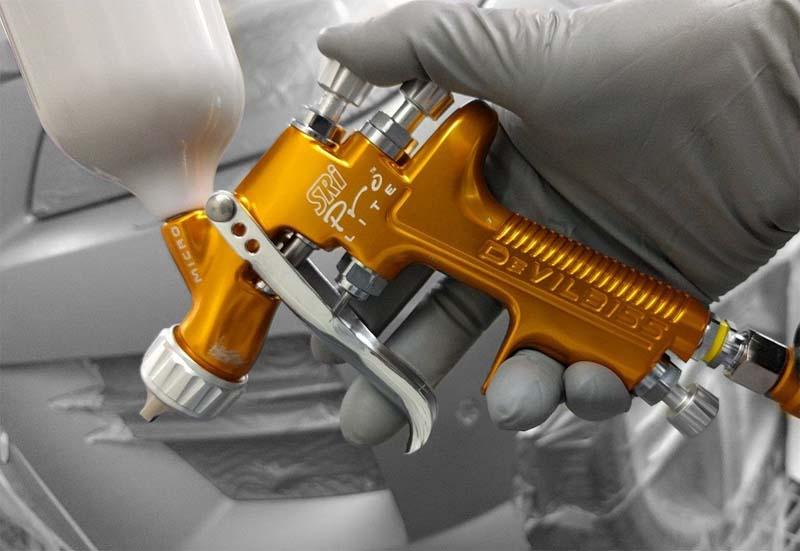 Choosing the right spray gun depends on several factors
