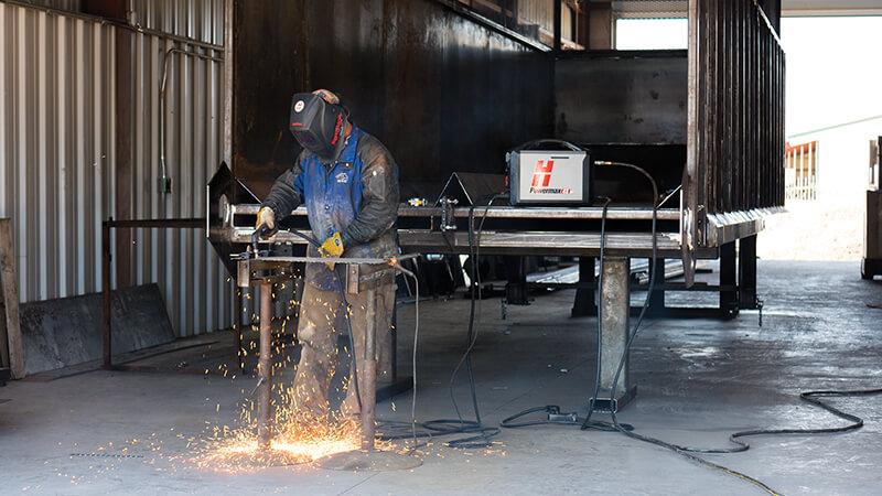 Light duty plasma cutting systems: Required equipment and consumables