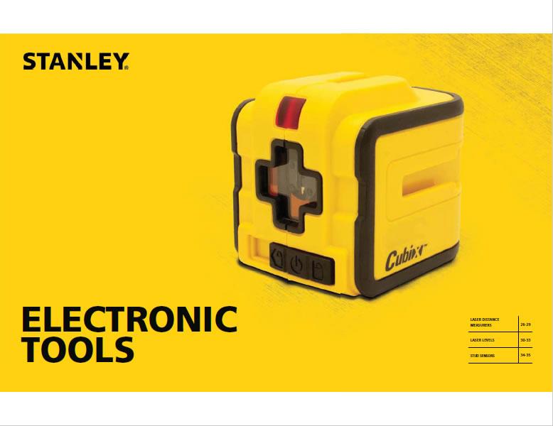 Catálogo de Herramientas Electrónicas Stanley 2015