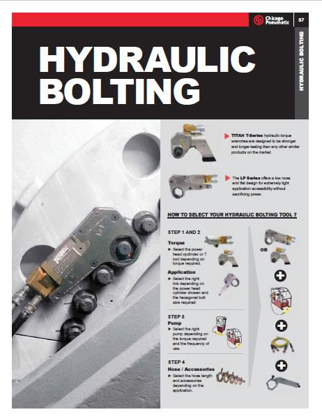 Catálogo Hydraulic Bolting