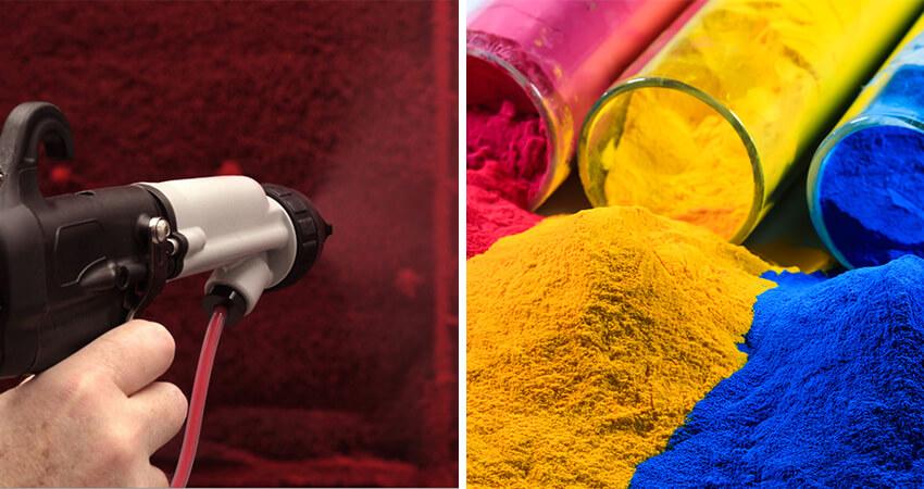 Pintura en polvo electrostática o pintura líquida: ¿cuál es mejor y por qué?